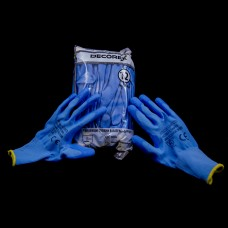 Latex gloves-SAPFIRE-blue